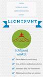 Mobile Preview of lichtpunt-peer.be