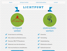 Tablet Preview of lichtpunt-peer.be